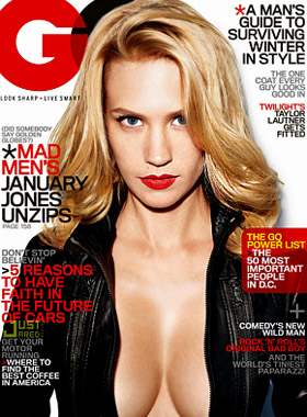 January Jones, pictures, picture, photos, photo, pics, pic, images, image, hot, sexy, latest, new, GQ, cover
