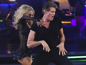 David Hasselhoff, Dancing With the Stars, DWTS, voted, off, eliminated, pictures, picture, photos, photo, pics, pic, images, image, hot, sexy, latest, new