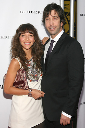 David Schwimmer, Zoe Buckman, baby, daughter, Cleo, pictures, picture, photos, photo, pics, pic, images, image, hot, sexy, latest, new, 2011