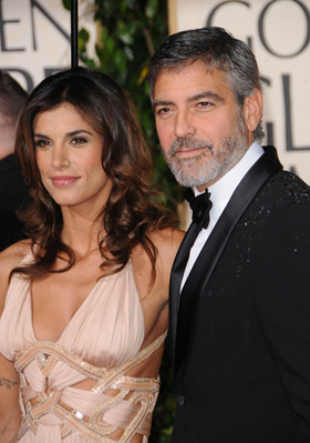 George Clooney, Elisabetta Canalis, engaged, engagement, dating, couple, together, pictures, picture, photos, photo, pics, pic, images, image, hot, sexy, latest, new, 2010