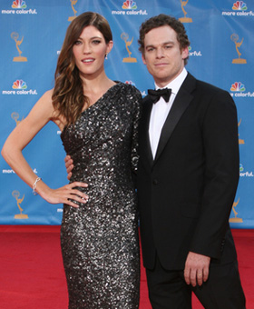 Michael C. Hall, Jennifer Carpenter, divorce, divorcing, split, breakup, break, up, marriage, pictures, picture, photos, photo, pics, pic, images, image, hot, sexy, latest, new, 2010