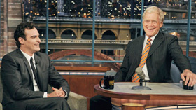 Joaquin Phoenix, David Letterman, Late Show, video, pictures, picture, photos, photo, pics, pic, images, image, hot, sexy, latest, new, 2010