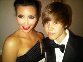 Kim Kardashian, Justin Bieber, pictures, picture, photos, photo, pics, pic, images, image, hot, sexy, latest, new, 2010