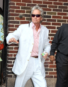 Michael Douglas, tumor, throat, cancer, stage 4, prognosis, Late Show, David Letterman, health, pictures, picture, photos, photo, pics, pic, images, image, hot, sexy, latest, new, 2010