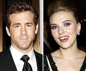 Ryan Reynolds  Scarlett Johansson Split on Scarlett Johansson  Ryan Reynolds  Divorce  Divorcing  Split  Breakup