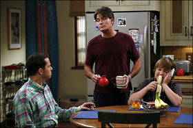 Charlie Sheen, Two and a Half Men, pictures, picture, photos, photo, pics, pic, images, image, hot, sexy, latest, new, 2011