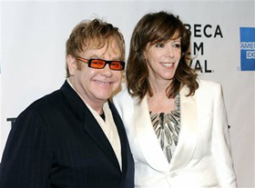 Elton John, Jane Rosenthal, pictures, picture, photos, photo, pics, pic, images, image, hot, sexy, latest, new, 2011