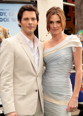 James Marsden, Lisa Linde, pictures, picture, photos, photo, pics, pic, images, image, hot, sexy, latest, new, 2011