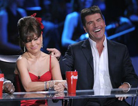 Paula Abdul, Simon Cowell, pictures, picture, photos, photo, pics, pic, images, image, hot, sexy, latest, new, 2011