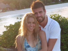 Shakira, Gerard Pique, boyfriend, dating, Twitter, pictures, picture, photos, photo, pics, pic, images, image, hot, sexy, latest, new, 2011