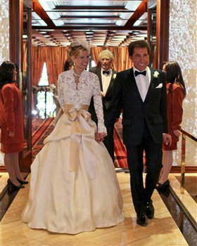 Steve Wynn, Andrea Hissom, wedding, pictures, picture, photos, photo, pics, pic, images, image, hot, sexy, latest, new, 2011