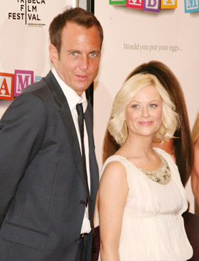 Amy Poehler and Will Arnett, pic, picture, photo, celebrity, celeb, news, juicy, gossip, rumors