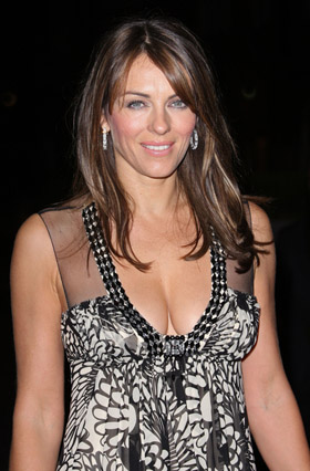 Elizabeth Hurley, pictures, picture, photos, photo, pics, pic, images, image, hot, sexy, latest, new, boobs, breasts, slip