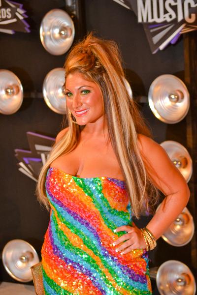 Deena Nicole Cortese Pictures: MTV Video Music Awards (VMAs) 2011 Red Carpet Photos, Pics