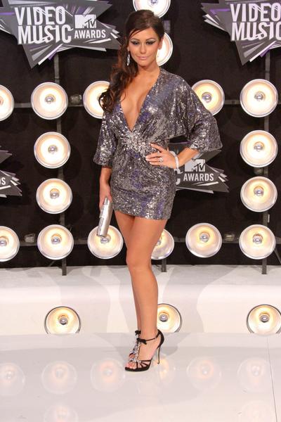 Jenni Farley Pictures: MTV Video Music Awards (VMAs) 2011 Red Carpet Photos, Pics