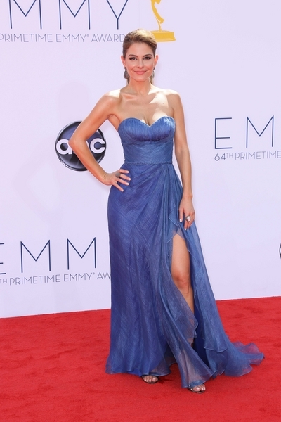 Maria Menounos Hot Style Pictures: Primetime Emmy Awards (Emmys) 2012 Photos, Pics