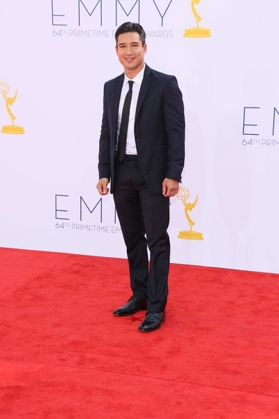 Mario Lopez Pictures: Primetime Emmy Awards (Emmys) 2012 Red Carpet Photos, Pics