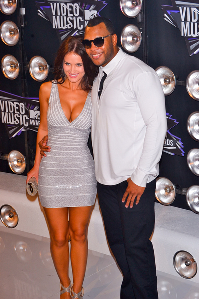 Flo Rida and Melyssa Ford Pictures: MTV Video Music Awards (VMAs) 2011 Red Carpet Photos, Pics