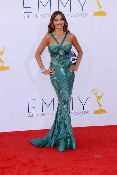 Sofia Vergara Hot Style Pictures: Primetime Emmy Awards (Emmys) 2012 Photos, Pics