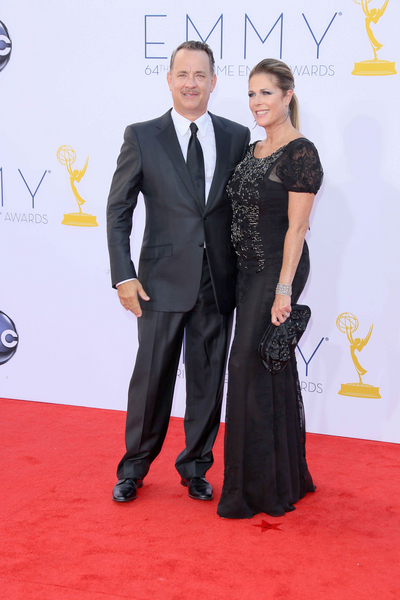 Tom Hanks and Rita Wilson Pictures: Primetime Emmy Awards (Emmys) 2012 Photos, Pics