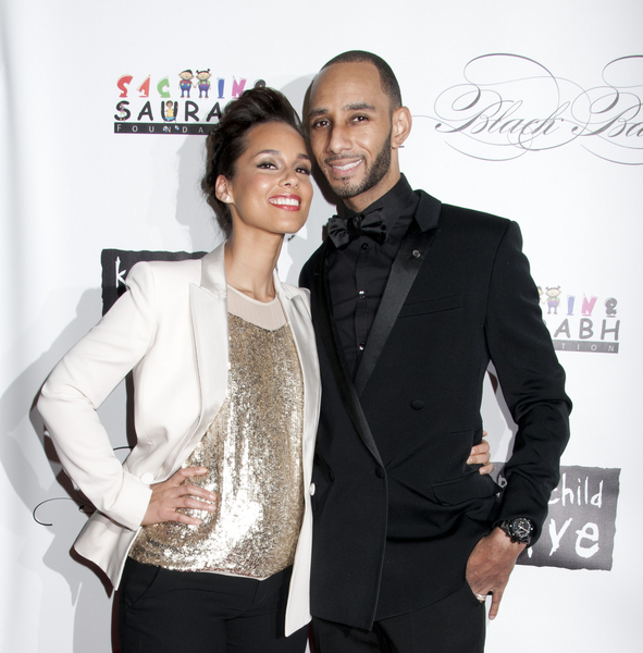 Alicia Keys and Swizz Beatz Pictures: Keep A Child Alive Black Ball 2011 Photos, Pics