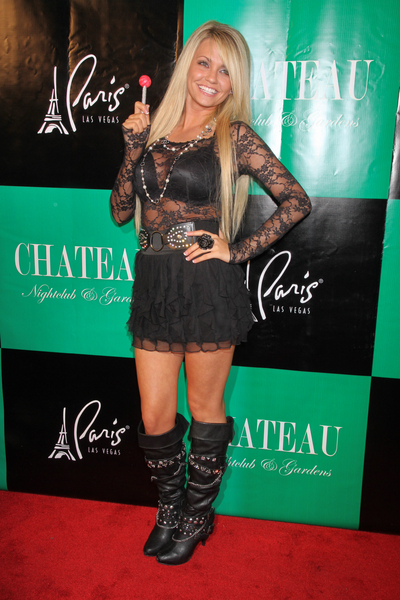 Angel Porrino Hot Style Pictures: Chateau Nightclub and Gardens Paris Las Vegas Photos, Pics
