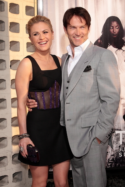 Anna Paquin and Stephen Moyer Pictures: True Blood Season 4 Premiere Photos, Pics