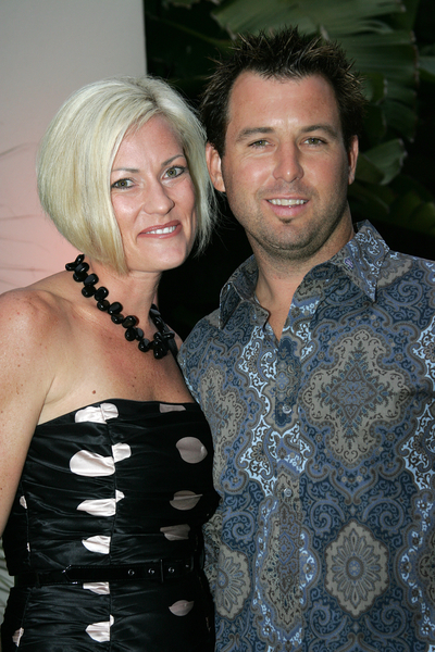 Jeremy McGrath and wife Kim Pictures