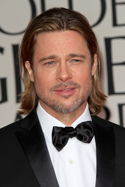 Brad Pitt Pictures: Golden Globes 2012 Awards Red Carpet Photos, Pics