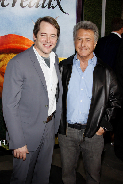 Matthew Broderick and Dustin Hoffman Red Carpet Pictures, Photos, Images & Pics