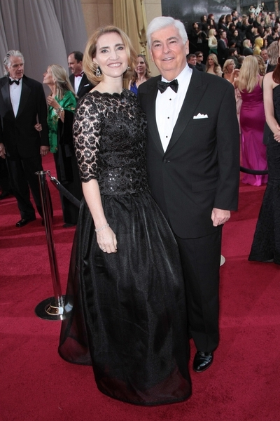 Chris Dodd and Jackie Clegg Pictures: Academy Awards (Oscars) 2012 Red Carpet Photos, Pics
