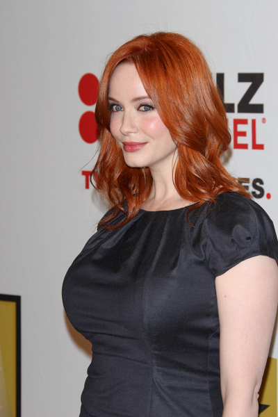 Christina Hendricks Hair Pictures: Critics' Choice Television Awards 2011 Red Carpet Photos, Pics