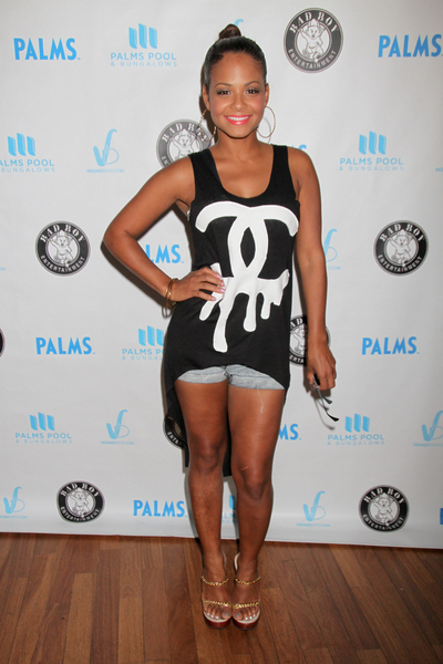 Christina Milian Pictures: Palms Pool and Bungalows Las Vegas Photos, Pics