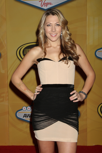 Colbie Caillat Hair Pictures: 2010 NASCAR Sprint Cup Series Awards Banquet Photos and Pics