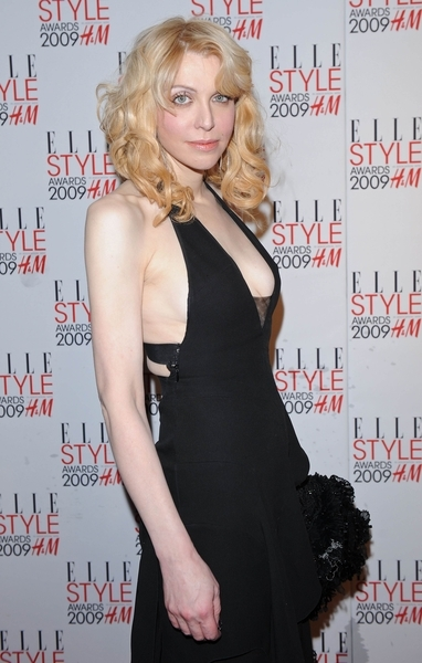 Courtney Love Hot Elle Style Awards Red Carpet Pictures, Photos, Images & Pics