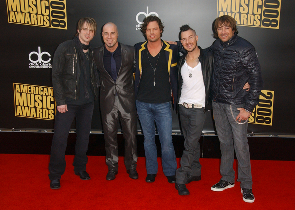Daughtry American Music Awards Red Carpet Pictures, Photos, Images & Pics