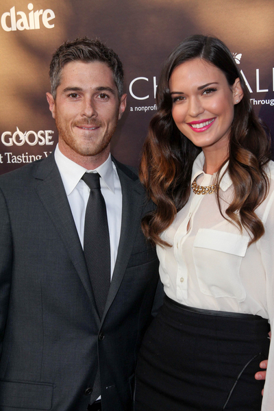 Dave Annable and Odette Yustman Pictures: Chrysalis Butterfly Ball 2011 Photos, Pics
