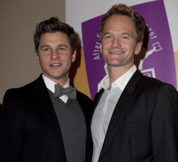 Neil Patrick Harris and David Burtka Pictures: Cinderella El Portal Theatre Opening Night Photos and Pics