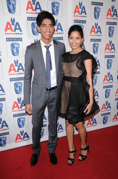 Dev Patel and Freida Pinto Pictures: BAFTA L.A. Britannia Awards 2009 Red Carpet Photos