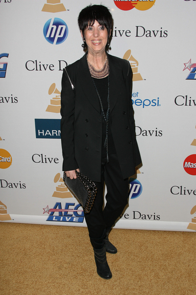 Diane Warren Pictures: Clive Davis Pre-Grammy Party 2011 Photos and Pics