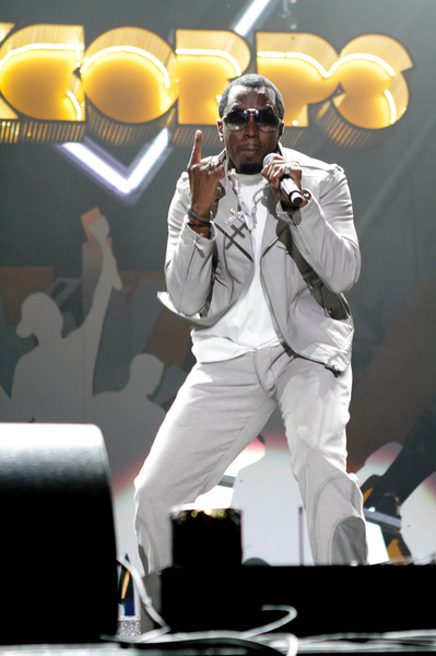 Sean Combs of Diddy-Dirty Money Pictures: Orange RockCorps 2011 Concert Photos, Pics