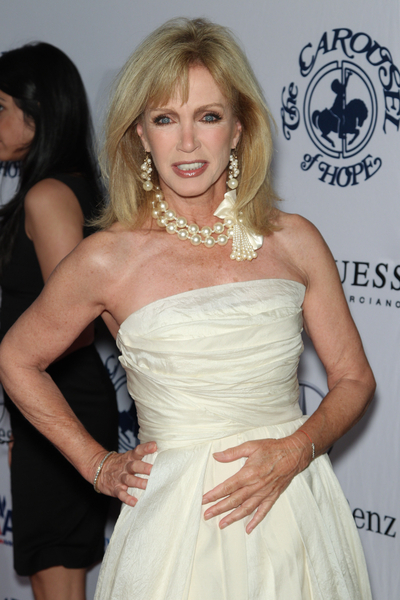 Donna Mills Pictures: Carousel of Hope Ball 2010 Red Carpet Photos and Pics