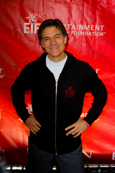 Dr. Mehmet Oz Pictures: EIF Revlon Run/Walk for Women 2011 Photos, Pics
