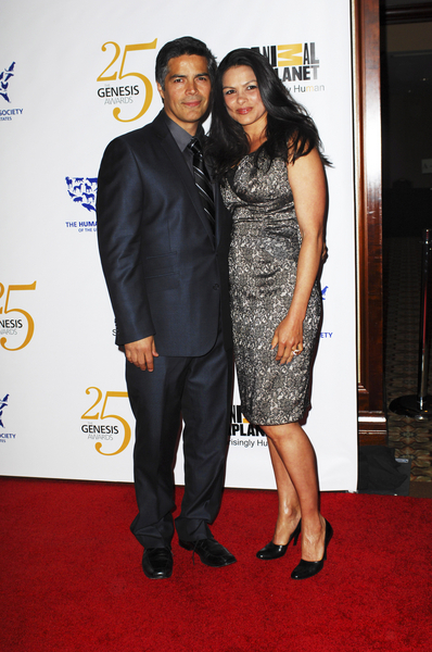Esai Morales and Elvimar Silva Pictures: 25th Anniversary Genesis Awards 2011 Photos, Pics