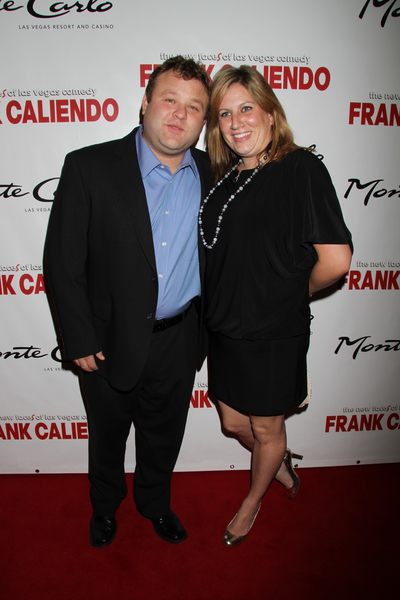 Frank Caliendo And Wife Michele Pictures Frank Caliendo
