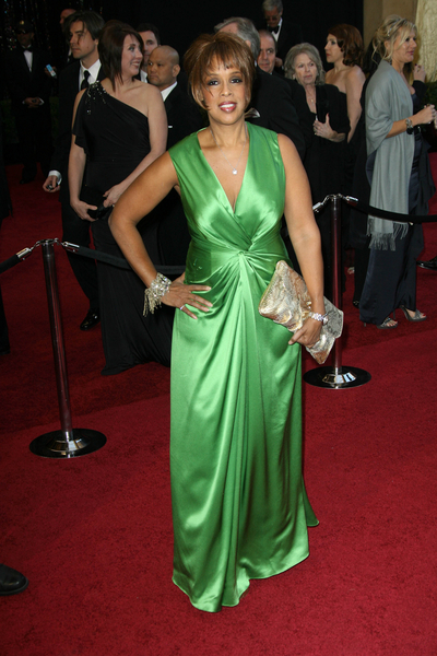 Gayle King arrives on the red carpet at the 83rd Annual Academy Awards