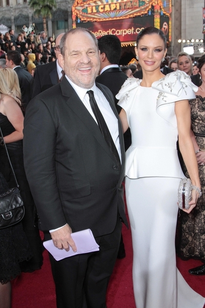 Harvey Weinstein and Georgina Chapman Pictures: Academy Awards (Oscars) 2012 Red Carpet Photos, Pics