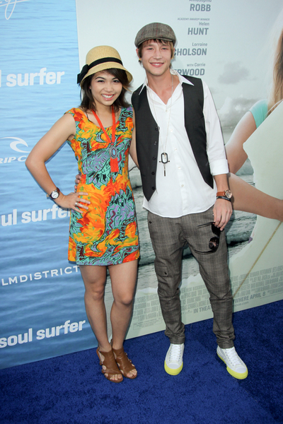 Hayley Kiyoko and Nick Roux Pictures: Soul Surfer Movie Premiere Photos, Pics