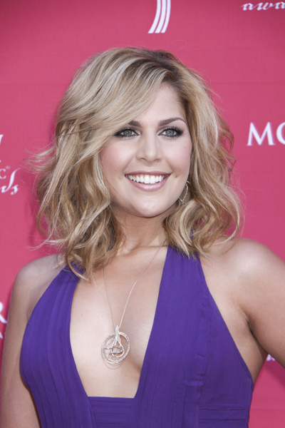 Hillary Scott of Lady Antebellum arrives at the 44th annual Academy of