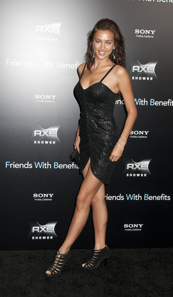 Irina Shayk Hot Style Pictures: Friends with Benefits Movie Premiere New York Photos, Pics